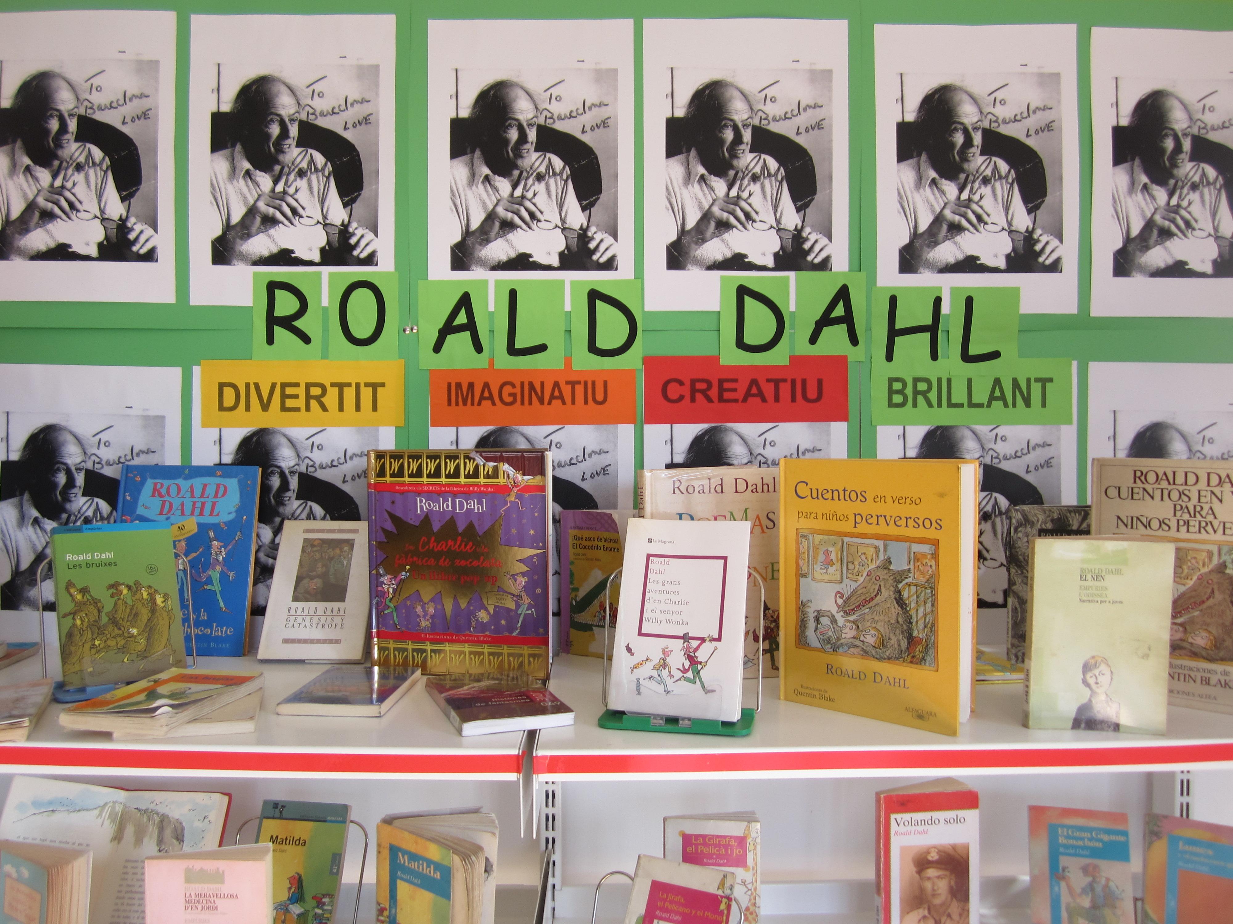 Tot llegint Roald Dahl…