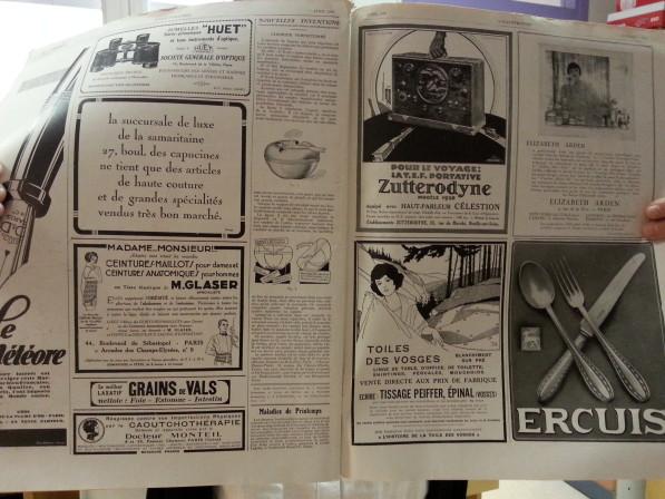 La publicité en 1928