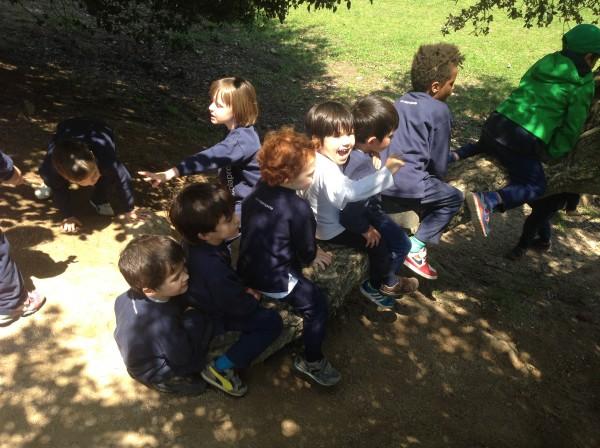 Els Cargols, els Peixos i les Girafes anem al Parc del Corredor