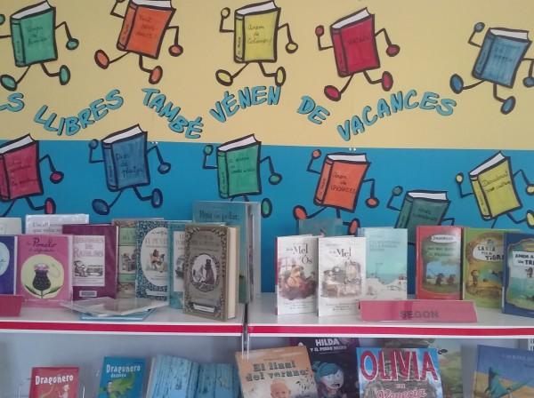 Nova exposició: Els llibres també vénen de vacances