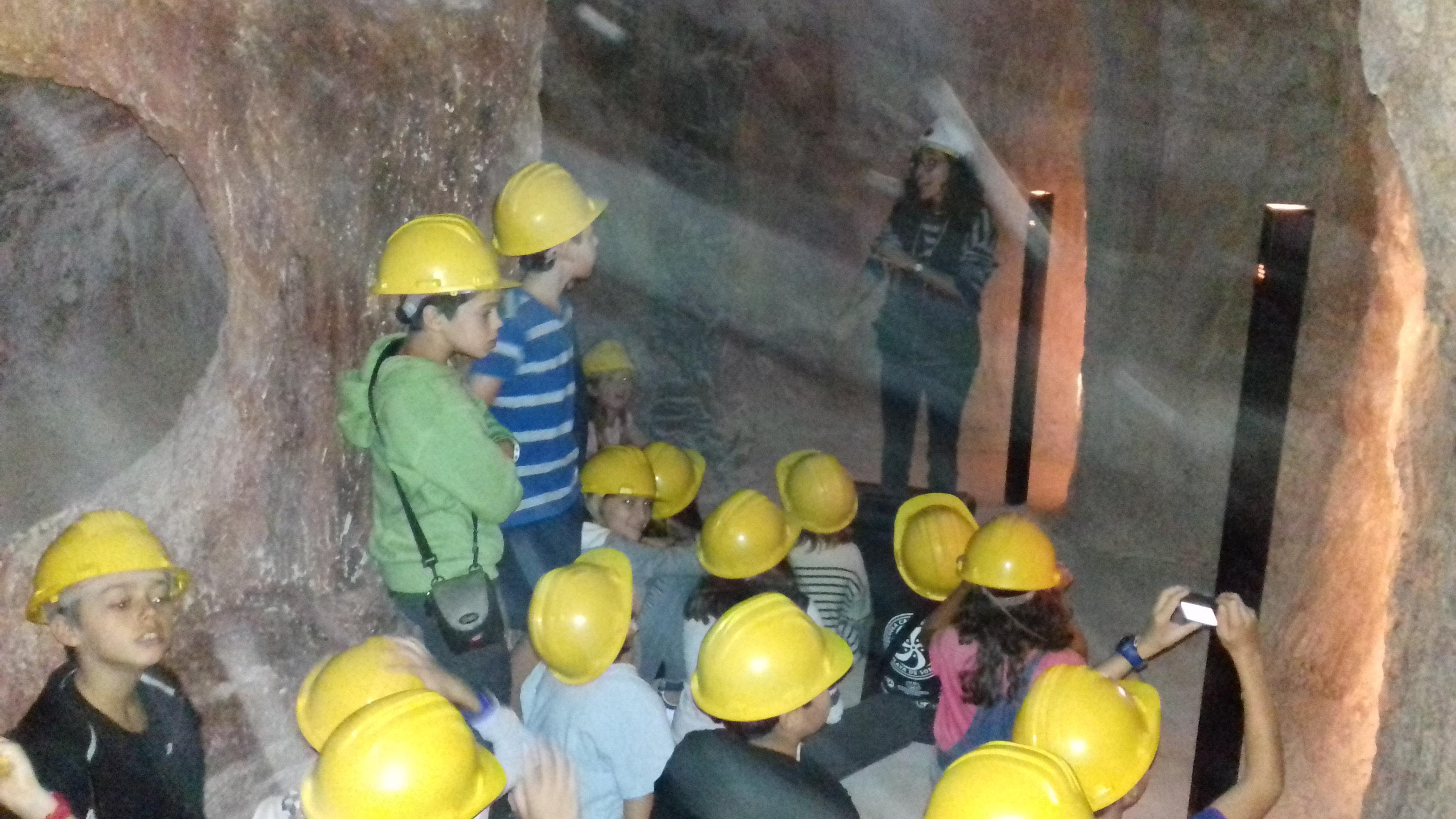Una visita prehistòrica