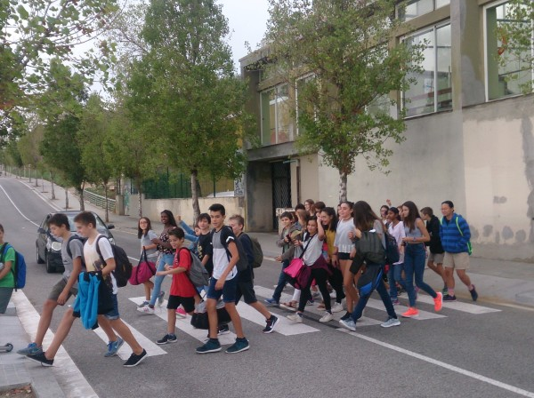 Camí Escolar: pas de vianants