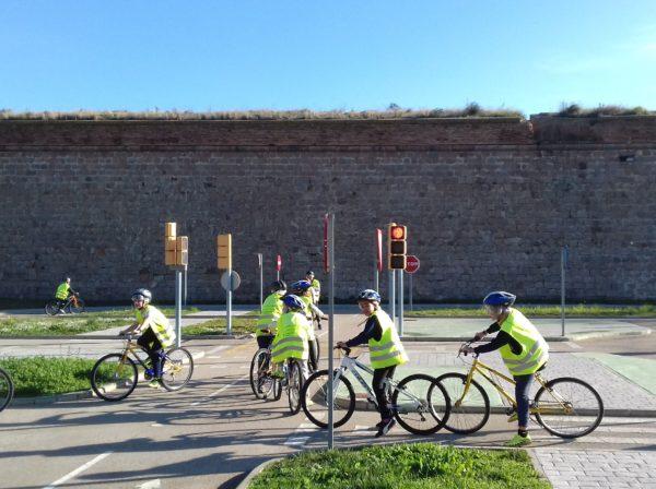 Aprenem a circular amb la Guàrdia Urbana