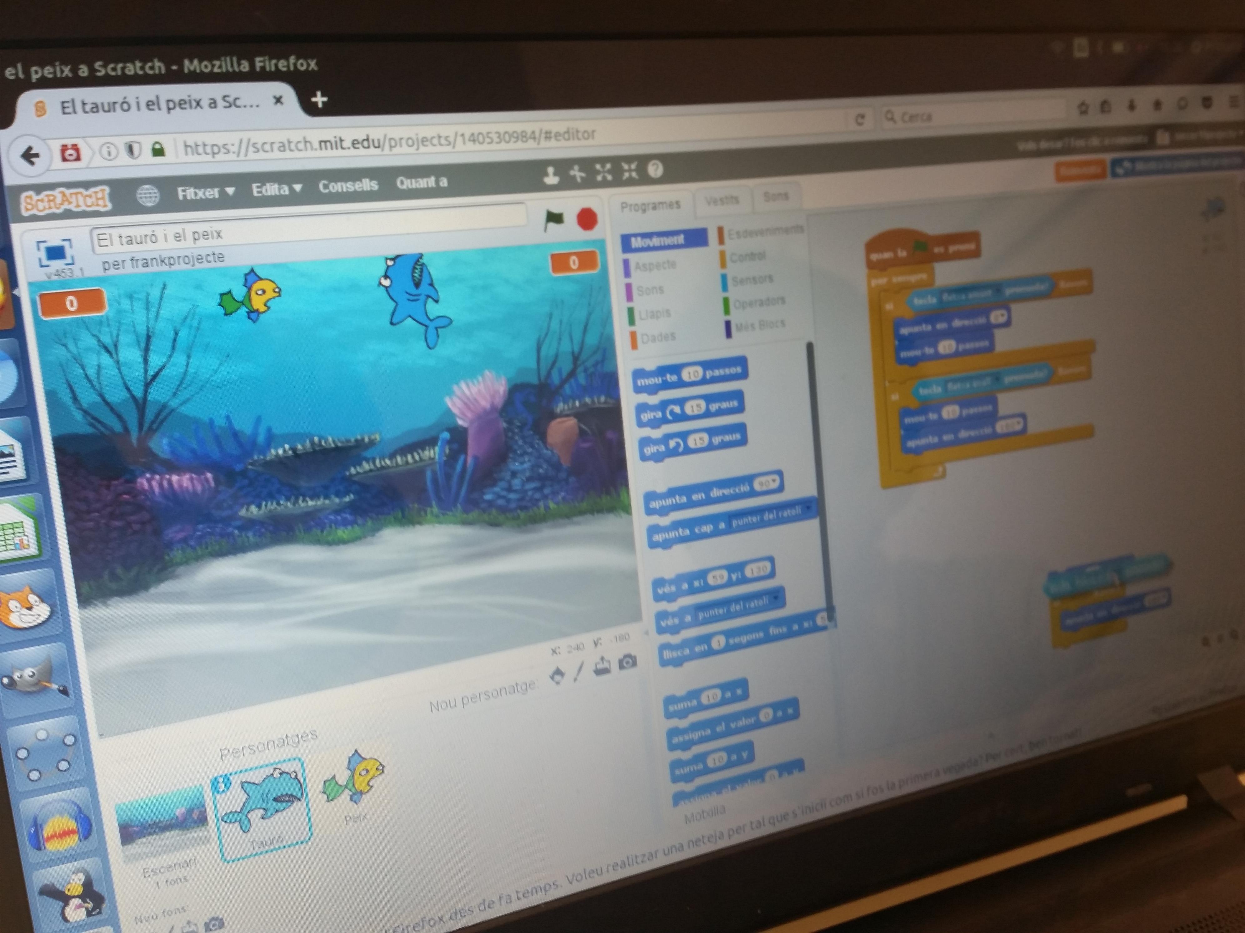 Comencem el taller de creació de videojocs