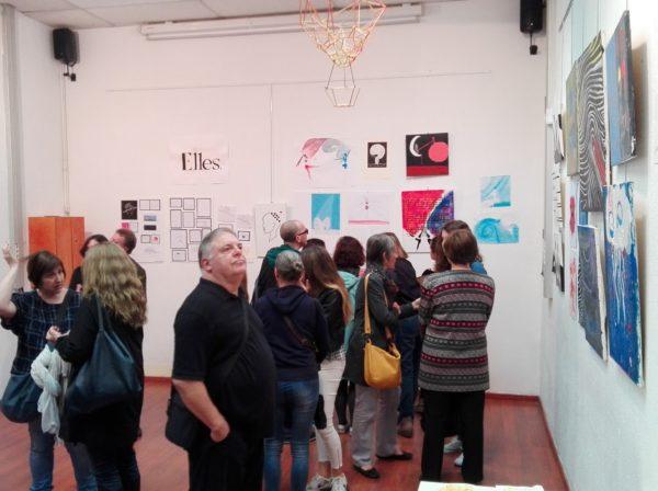Exposició d'art a la Casa Sagnier