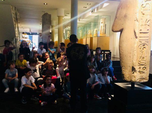 Visita al Museu Egipci