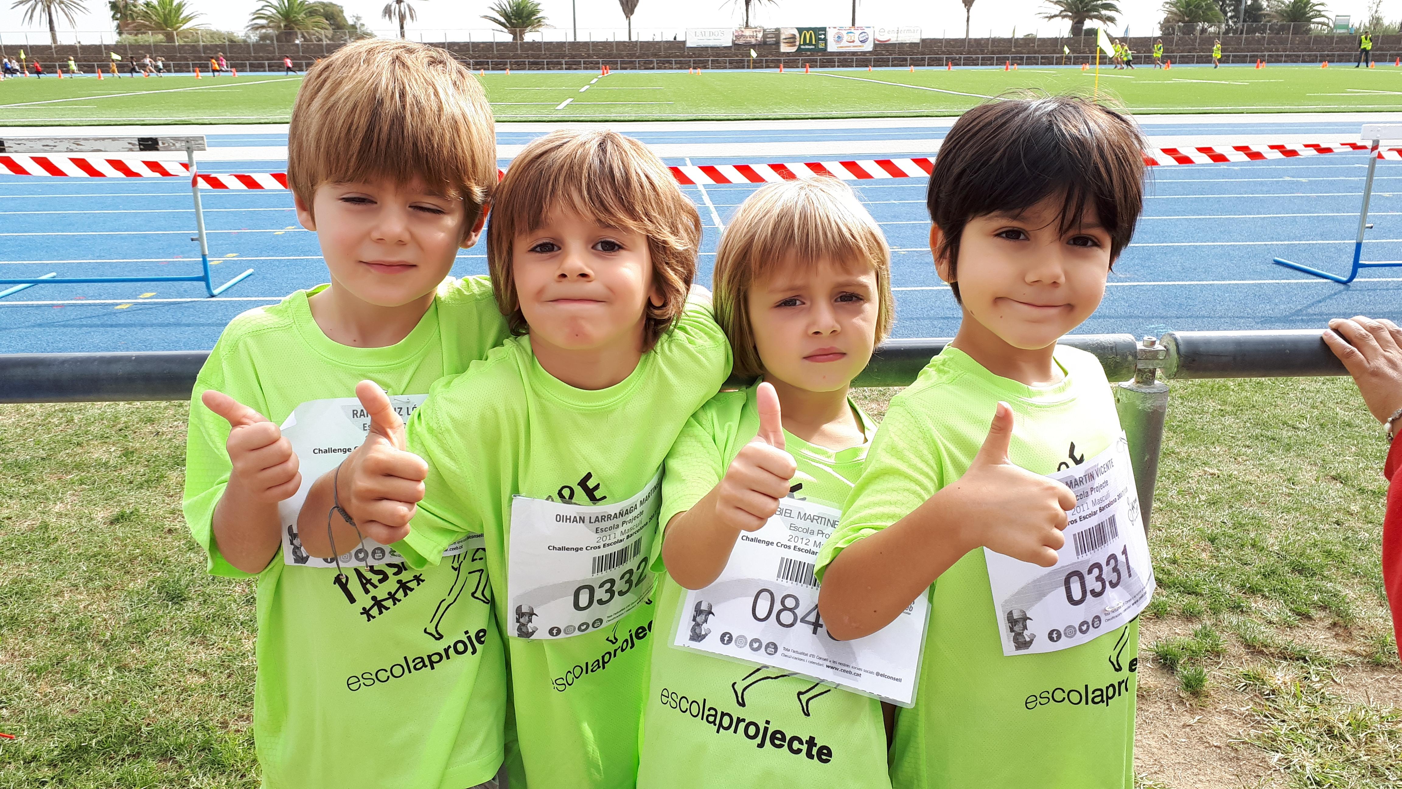 Participem de nou a la Challenge de cros escolar de Barcelona