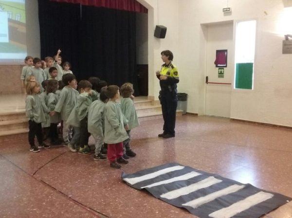 Visita de la Guàrdia Urbana
