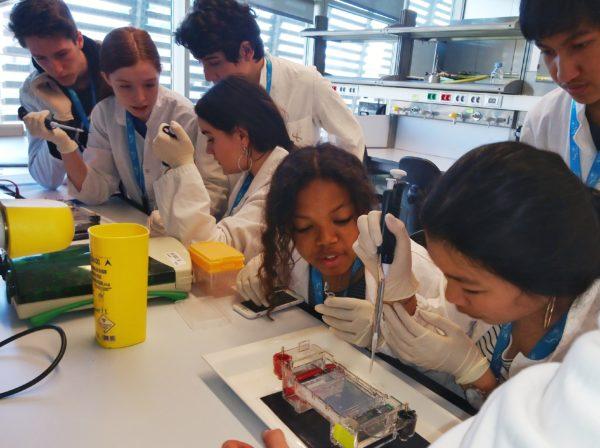 Activitat al Centre de Regulació Genòmica (CRG)