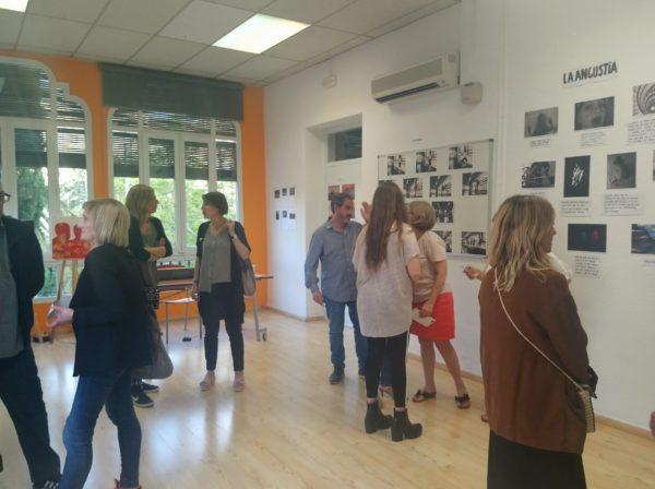 Exposició col·lectiva d'art a la Casa Sagnier