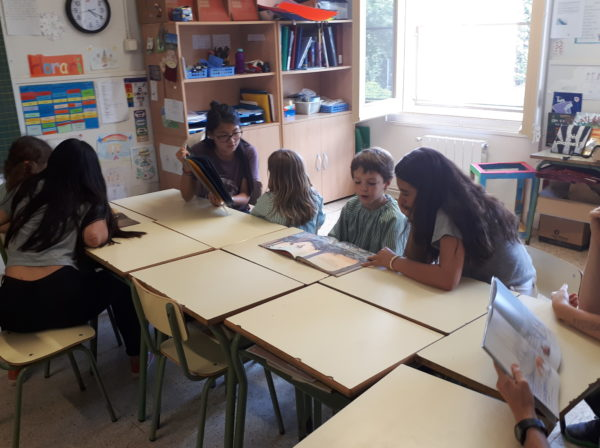 Activitat padrins i fillols lectors