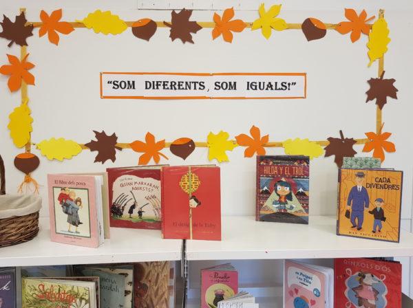 """Nova exposició a la Biblioteca: """"Som diferents, som iguals!"""""""