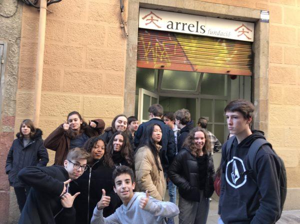 El grup de 4t d'ESO visitem la Fundació Arrels