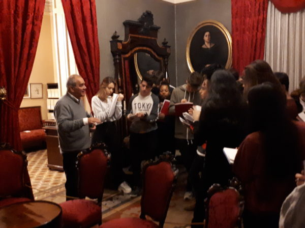 El grup de 4t d'ESO anem a la casa-arxiu Joan Maragall