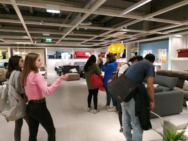 El grup de 3r d'ESO visitem l'IKEA