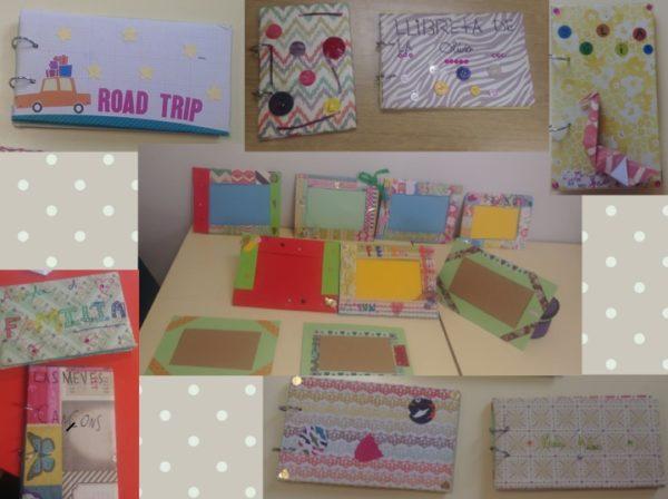 Llibretes i marcs de fotos a l'espai d'Scrap