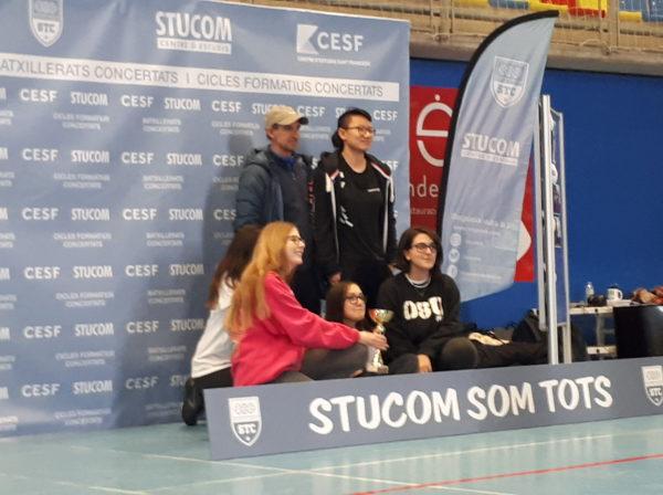El grup de 4t d'ESO participem en una nova jornada esportiva Stucom