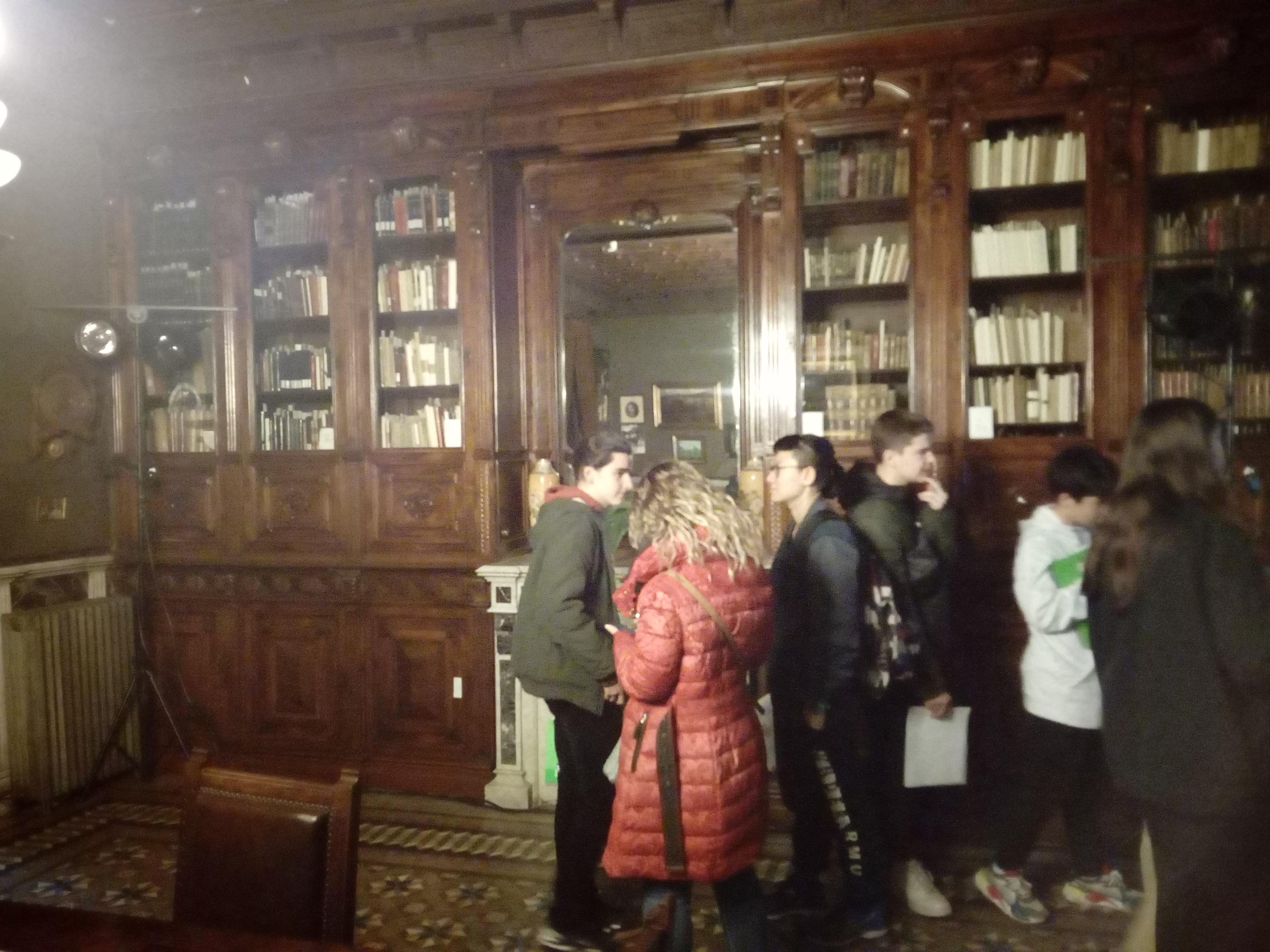 El grup de 4t d'ESO visitem la Casa-arxiu Joan Maragall