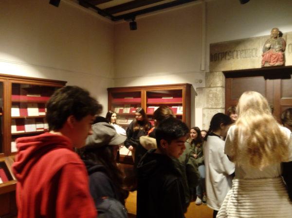 Visita de 4t d'ESO a la Biblioteca de Catalunya