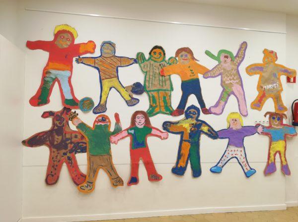 Els Cargols hem pintat amb les nostres famílies