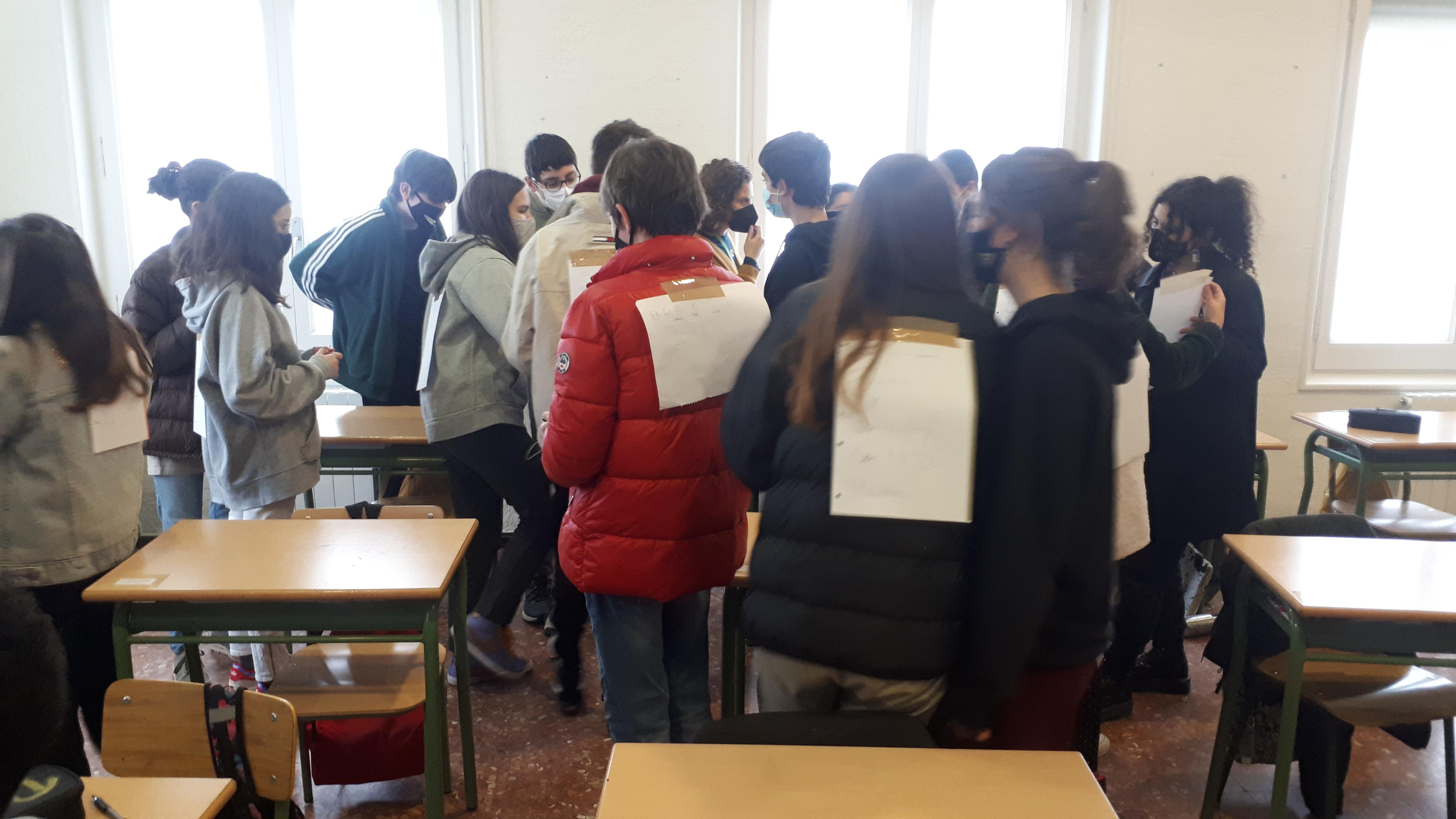 Taller d'educació emocional a 2n d'ESO